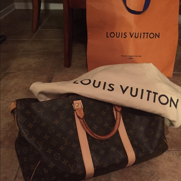 Louis Vuitton Handbags - Louis Vuitton Monogram Keepall 50